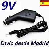 Cargador Coche Mechero 9V Reemplazo Reproductor DVD Grandin Conforama Recambio Replacement