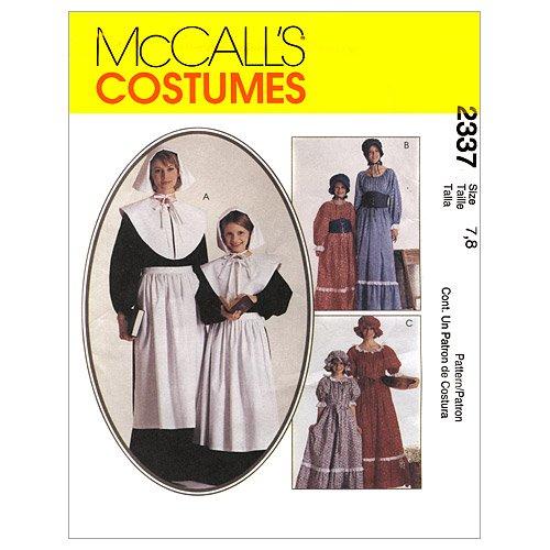 Mc Call 2337 Non-kostuum voor kinderen, maat 14 (152)