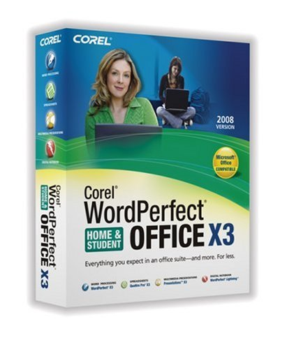 Corel Wordperfect Office X3 - Home & Student Edition (PC)