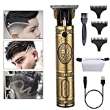 Hair Clippers Cordless Haircutting Kit - Professional Hair Trimmer Set Grooming Baber Kit, T-Outliner Edger Trimmer Hair Cutter, Haircut Machine for Men/Kids/Baby/Guide Combs (Hair Clipper)
