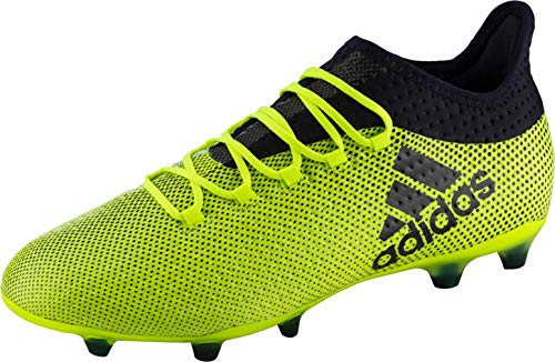 adidas X 17.2 Firm Ground Football Boots, Zapatillas Deportivas para Interior para Hombre, Multicolor (Multicolour Green), 42 2/3 EU