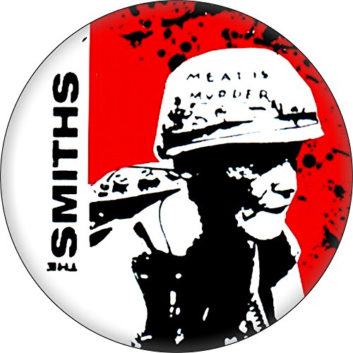 """The Smiths - Meat Is Murder (Army Man) - 1.25"""" Button"""