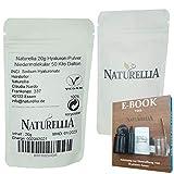 Naturellia Acido Hialuronico Polvo 20 Gramos 50 k-Dalton Altamente Concentrado - Bajo Peso Molecular...