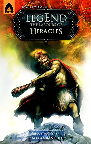 Legend: The Labors of Heracles: A Graphic Novel (Campfire Graphic Novels)