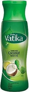 Dabur Vatika Enriched Coconut Hair Oil 300ml (Pack of 2 Bottles)