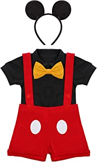 Baby Boys First Birthday Cake Smash Outfit Bowtie Romper Suspenders Gentleman Overalls Tuxedo Bib Pants Mouse Ear Headband
