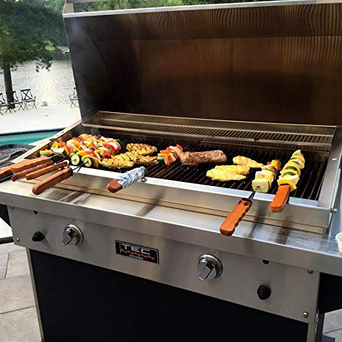 TEC Patio FR 44-Inch Built-in Infrared Natural Gas Grill - PFR2NT