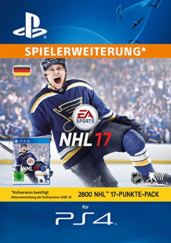 2800 NHL 17 Punkte-Pack [PS4 PSN Code - deutsches Konto]