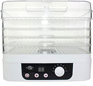 YUNTAO Food dehydrator, Food Dehydrator, Smart Adjustable Temperature With Timing Function With 5 Layers Of ABS Tray For D...