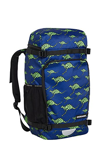 Chiemsee Bags Collection Schulrucksack, 48 cm, 4865 Dk Blue/M Green