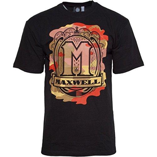 187 Strassenbande Original Maxwell Camouflage T-Shirt Schwarz L
