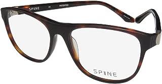 Spine 1005 Mens Designer Full-rim Spring Hinges Contemporary Premium Quality Must Have Hip Eyeglasses/Glasses