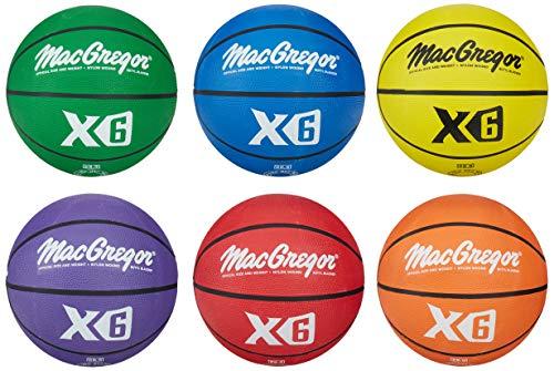 macgregor multicolor basketballs set of
