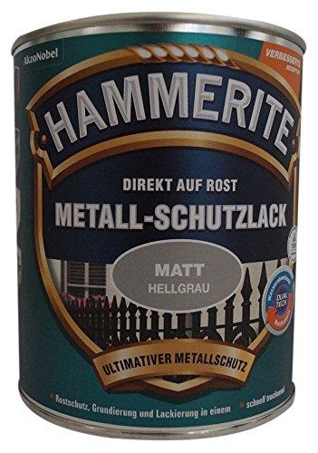 AKZO NOBEL (DIY HAMMERITE) Metall-Schutzlack matt grau0,750 L, 5134936