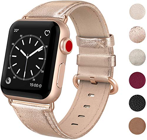 Best apple watch band 38mm gold leather for 2020