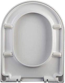 Toiletbril met dikker zacht dicht ureum-formaldehyde bovenop gemonteerd toiletdeksel voor U-vorm toiletbril, 38 ~ 45,5 * 3...