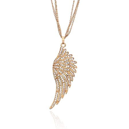 pave jewelry Infinity pendant with angel wings rhinestone cz pendant pave charms pave pendant necklace angel charm earrings dangle