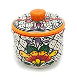 Talavera Ceramic Sugar Bowl Hand Painted...