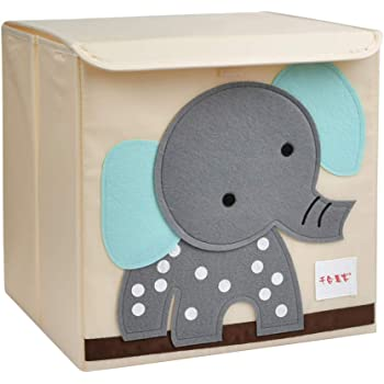 Mirio Aufbewahrungsbox Kinder Fur Spielzeug Mit Tiermotiv Spielzeugkiste Kinderzimmer Tier Storage Wurfel Ordnungsbox Fur Kallax Regal Stabil Faltbar Sehr Geruchsarm 33x33x33cm Igel Amazon De Kuche Haushalt