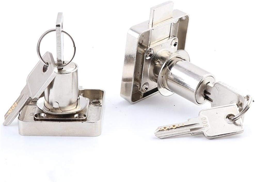 SHAXX 2021 Recommended 10pcs 22mm 32mm Copper Drawer with Lock Locks Furni 2 Keys