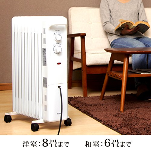 IRISOHYAMA(アイリスオーヤマ)『オイルヒーター(POH-1210KS-W)』
