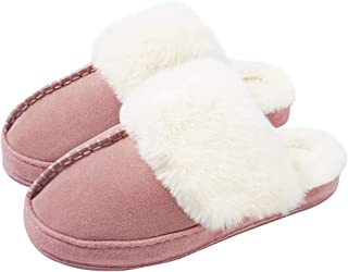 earth therapeutics aloe faux fur slip on slippers