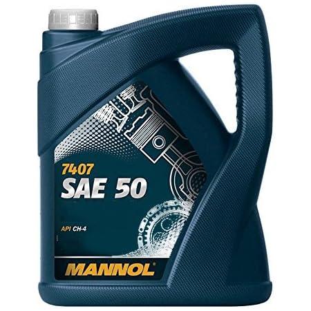 Mannol Sae 50 Api Ch 4 Motorenöl 5 Liter Auto
