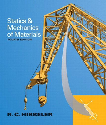 Statics and Mechanics of Materials Plus MasteringEngineering with Pearson eText -- Access Card Package (4th Edition)