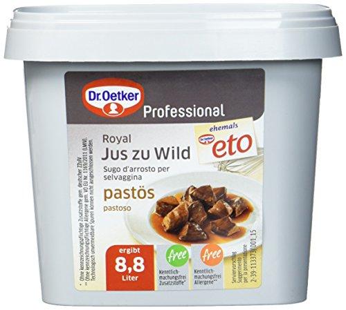 Dr. Oetker Professional Pastöser Jus zu Wild, Paste in 850 g Dose
