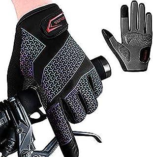 Fietshandschoenen Fietshandschoenen Mountainbike Handschoenen Anti-slip Schokabsorberende Pad Ademende Halve Vinger Fiets ...