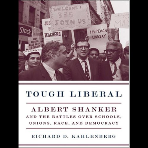 Tough Liberal audiobook cover art