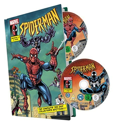 Spiderman Boxset, Staffel 1-5 (10 Discs) limitierte Auflage [Collector's Edition]
