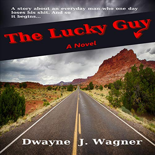 The Lucky Guy audiobook cover art