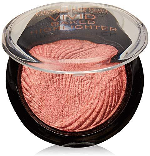 Makeup Revolution Vivid Baked Highlighter Rose Gold Lights Rozświetlacz do twarzy 7,5g