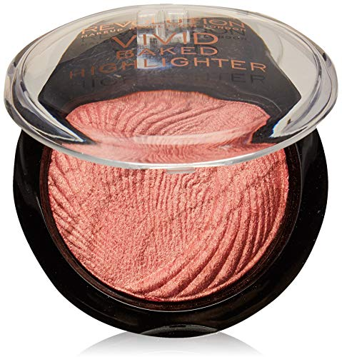 Makeup Revolution Vivid Baked Highlighter 7.5g roze (rose Gold Lights).