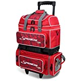 MICHELIN Storm Streamline 4 Ball Roller Bowling Bag Red Crackle/Red
