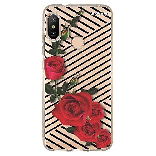 Capa Personalizada Xiaomi Mi A2 Lite Floral - FL32