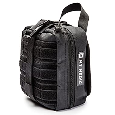 My Medic MyFak Backpack First Aid Kit (Black, Basic)
