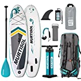 Best Paddle Boards - Murtisol Inflatable Paddle Board Stand Up Paddle Lake Review