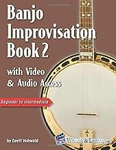 Banjo Improvisation Book 2 with Video & Audio Access: with Video and Audio Access