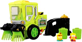 Trash Pack Glow in The Dark Street Sweeper Playset Series 1