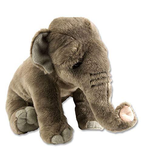 Wild Republic Peluche Éléphant d'Asie Cuddlekins, Jouets, 30cm