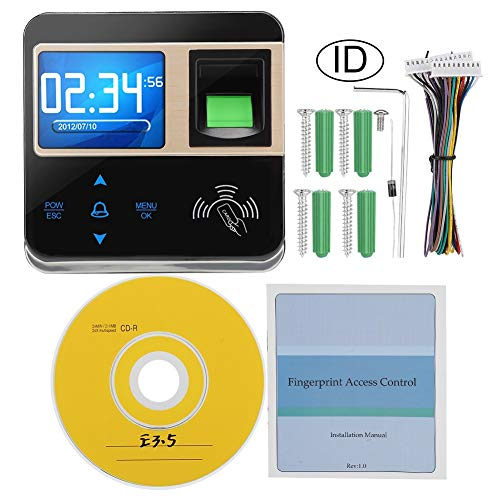 Woyisisi Biometrischer Fingerabdruck Zutrittskontrolle Mitarbeiter Zeiterfassung IC-ID(01)