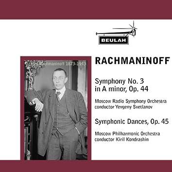 Rachmaninoff: Symphony No. 3 & Symphonic Dances