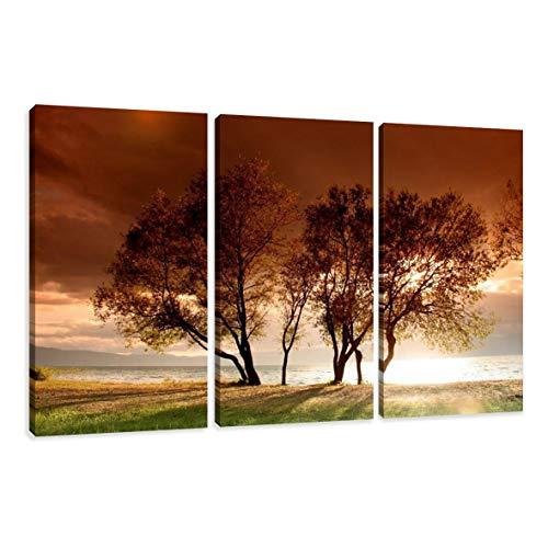 Visario Bild auf Leinwand Markenware Steine Spa 4x 30x30 cm 6607/>