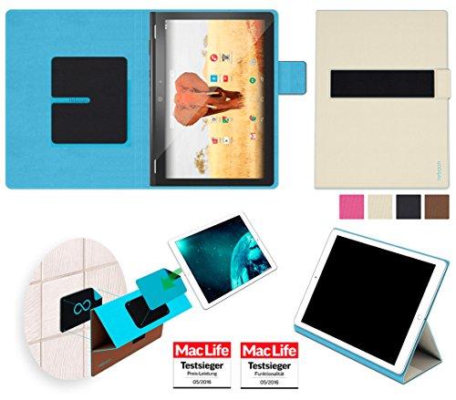 reboon Hülle für Archos 101 Magnus Plus Tasche Cover Case Bumper | in Beige | Testsieger