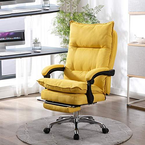 MKXF Silla reclinable de Boss del Respaldo para la Pausa del Almuerzo, Tela cómoda Transpirable