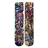 YX GIRL Unisex 3D Printed game Socks Novelty men's socks Athletic Sports Length Socks (1-Fortnite4)