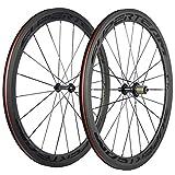 Best Carbon Wheelsets - Superteam 50mm/23mm Wheelset 700c Clincher Road Bicycle Carbon Review