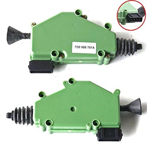 2x Stellmotor Zentralverriegelung ZV elektrisch 7D0959781A